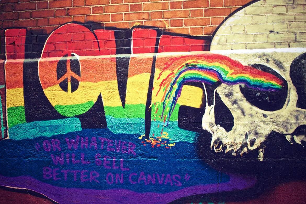 LOVE or whatever will sell better on canvas