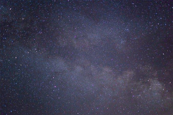 星々が輝く夜空