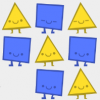 『多角形のたとえ話(Parable of the Polygons) 』。社会とひとの心の関係、そして未来についていろいろ考えさせてくれるゲーム