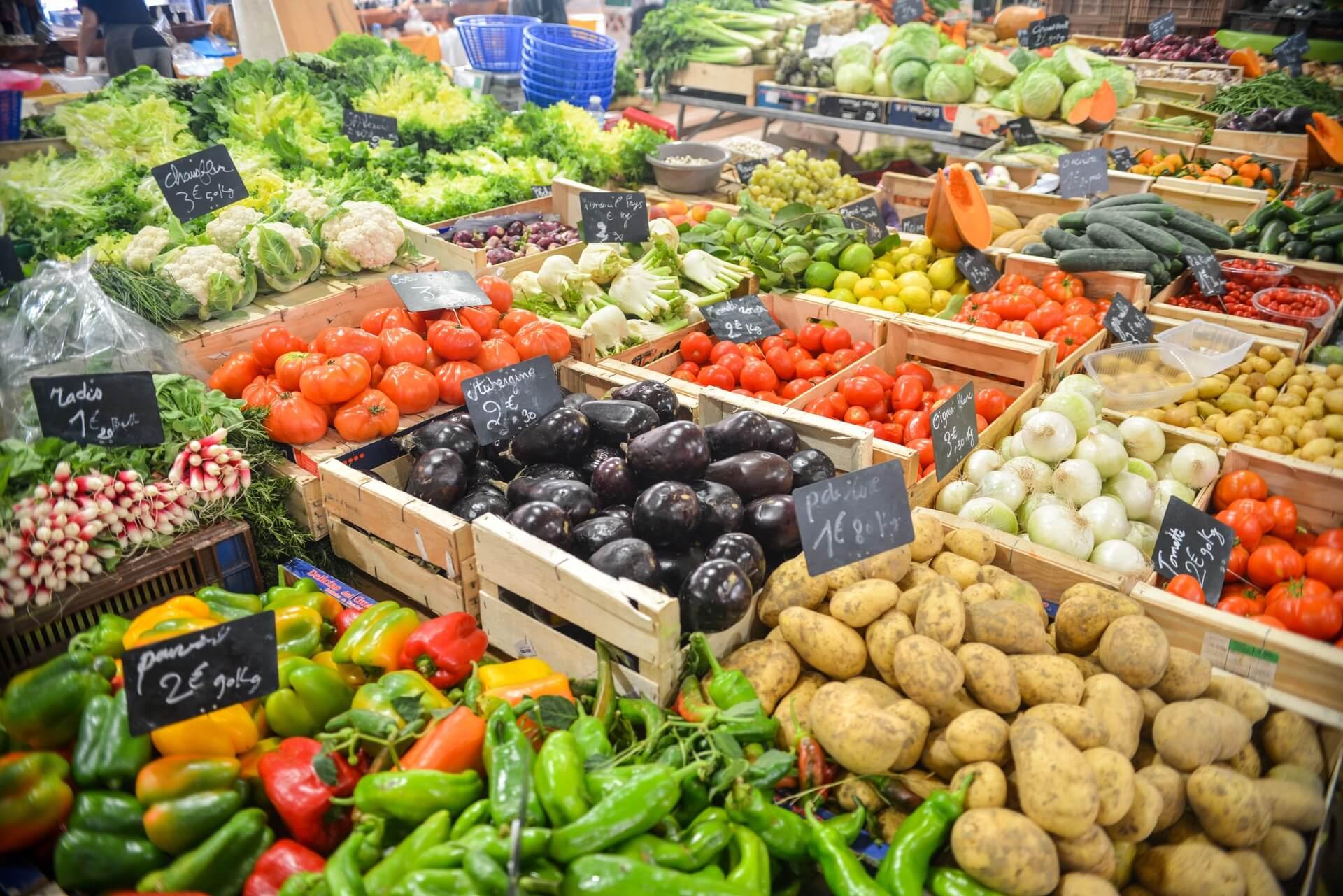 いろんな種類の野菜
