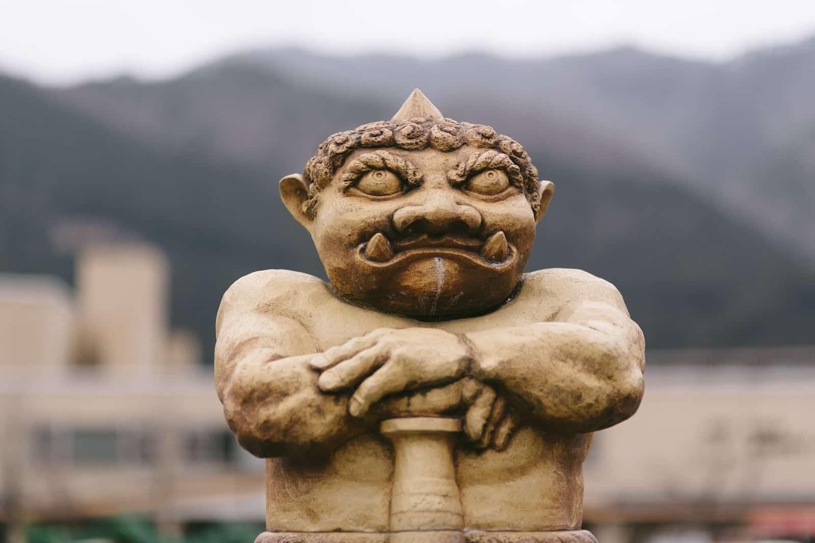 鬼怒川のマスコット