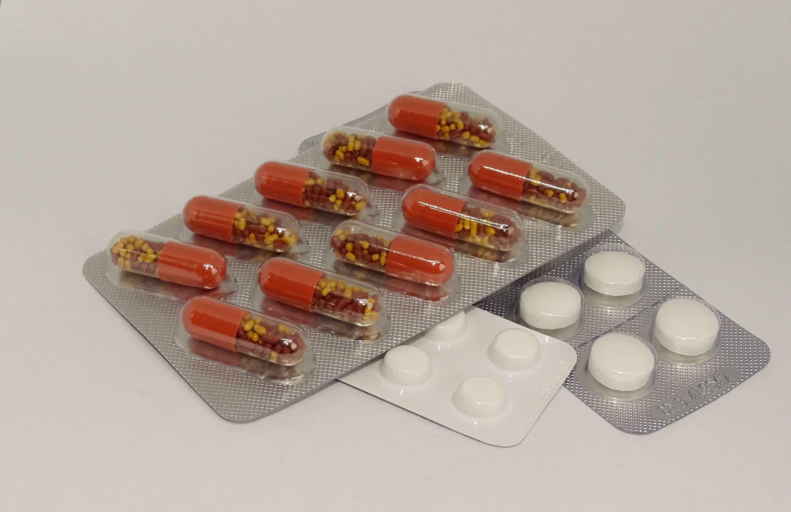 たくさんの薬